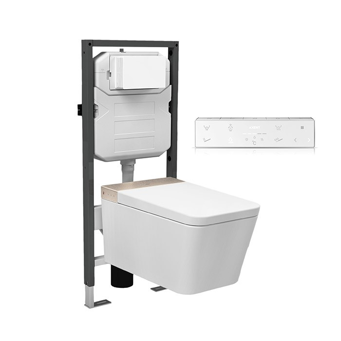Bond Wall-mounted shower toilet E84.0410.0001.9 | AXENT
