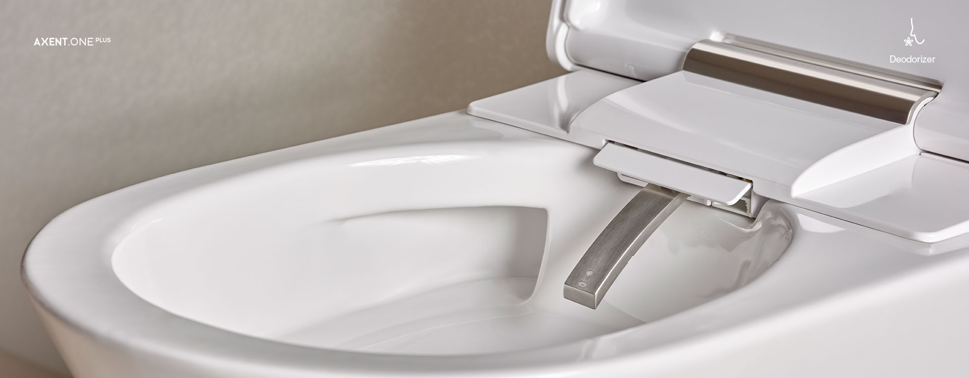 AXENT.ONE Wall-hung shower toilet | Features