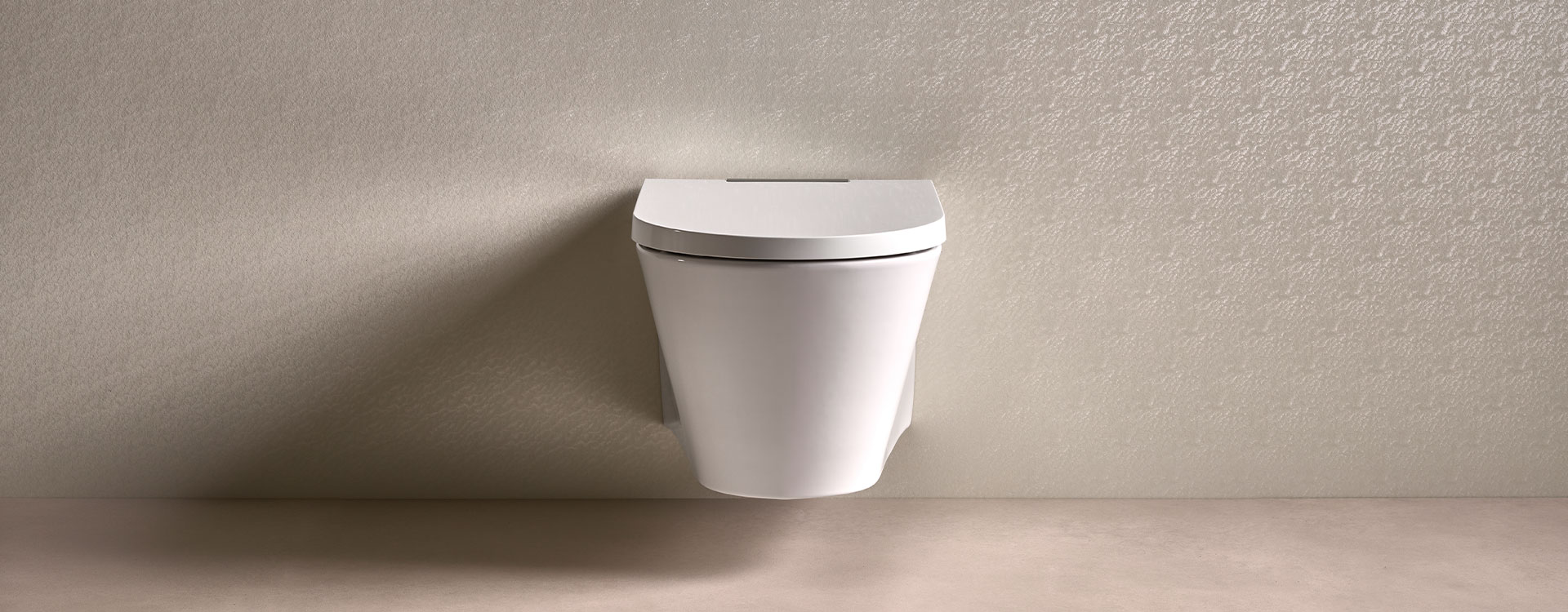 AXENT.ONE Wall-hung shower toilet